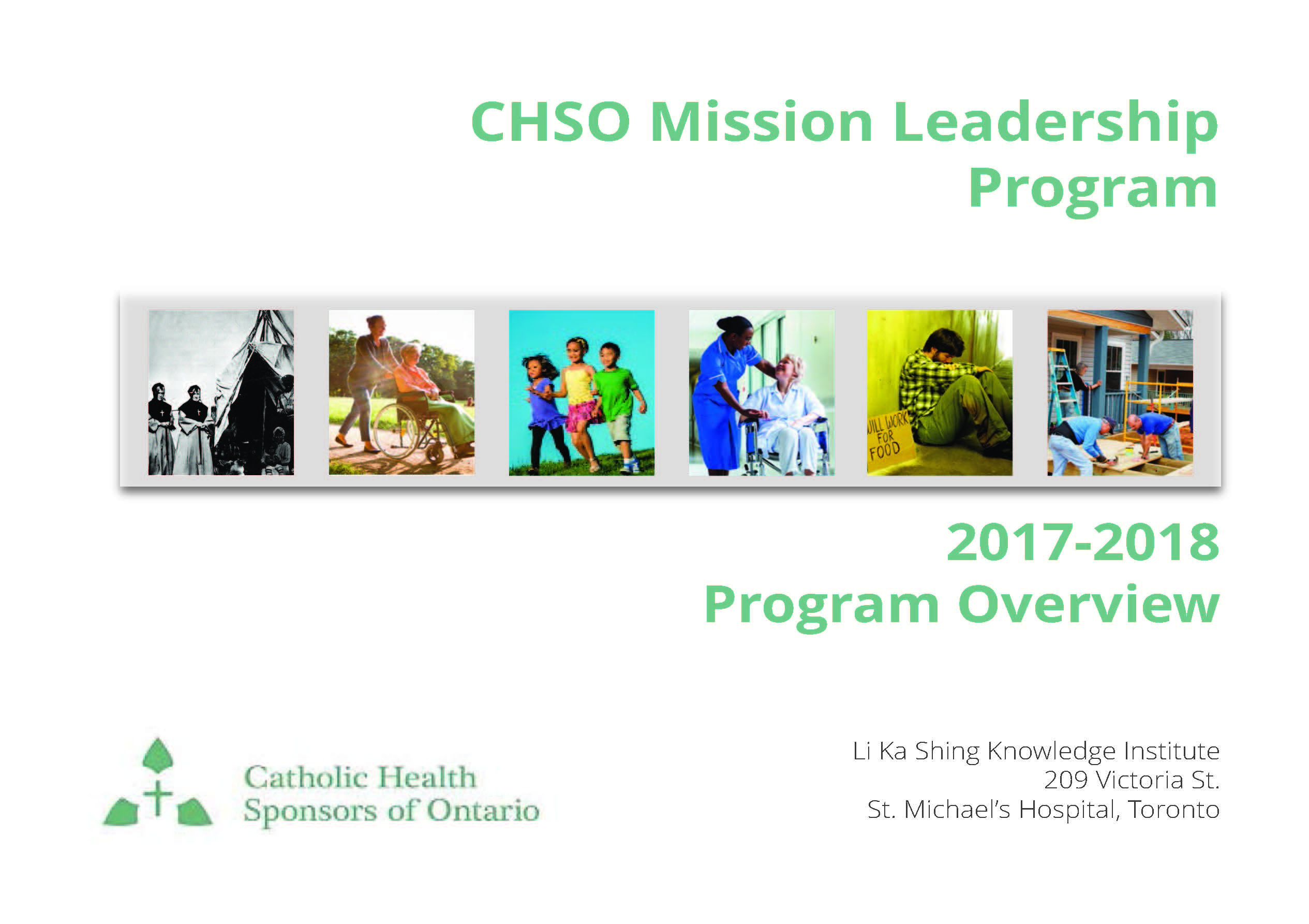 CHSO Mission Leadership Program