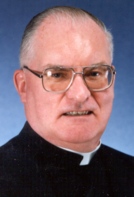 Father Frank Morrisey receives the first CHSO Meritorious Award