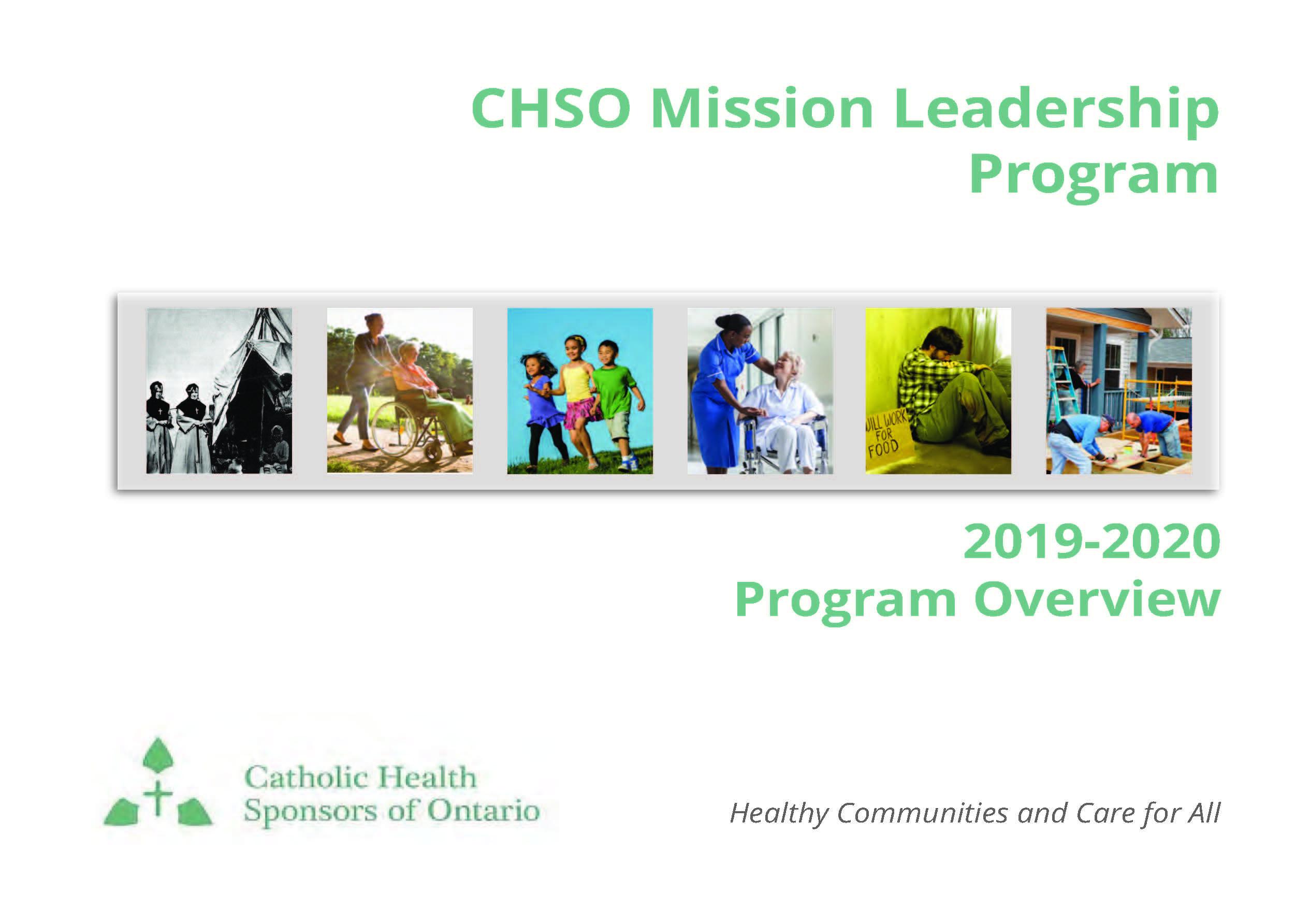 CHSO Mission Leadership Program